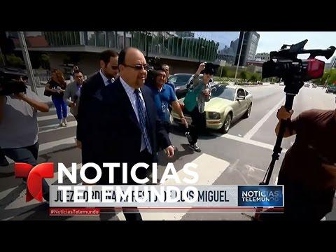 Jueza de Los Ángeles ordena el arresto del cantante Luis Miguel | Noticiero | Noticias Telemundo