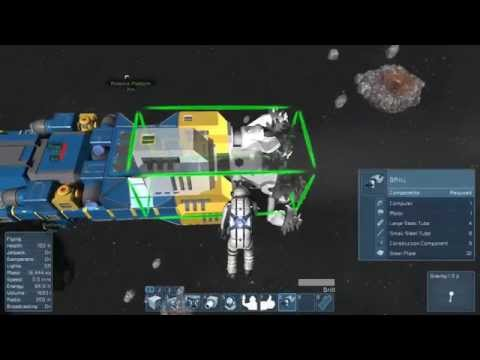 space engineers with TTGL, space hotel build pt1