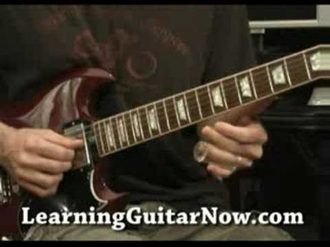 Slide Guitar Lesson: Warren Haynes style slide guitar