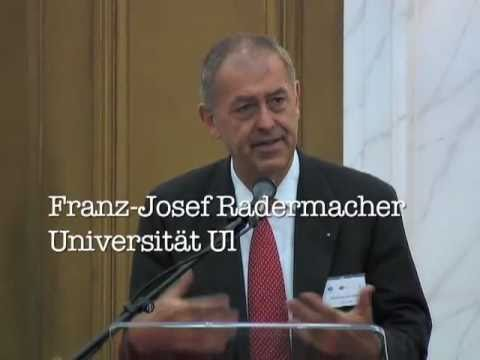 Franz-Josef Radermacher at Multi Many Messy conference