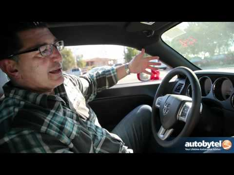 2012 Dodge Challenger R/T Test Drive & Car Review