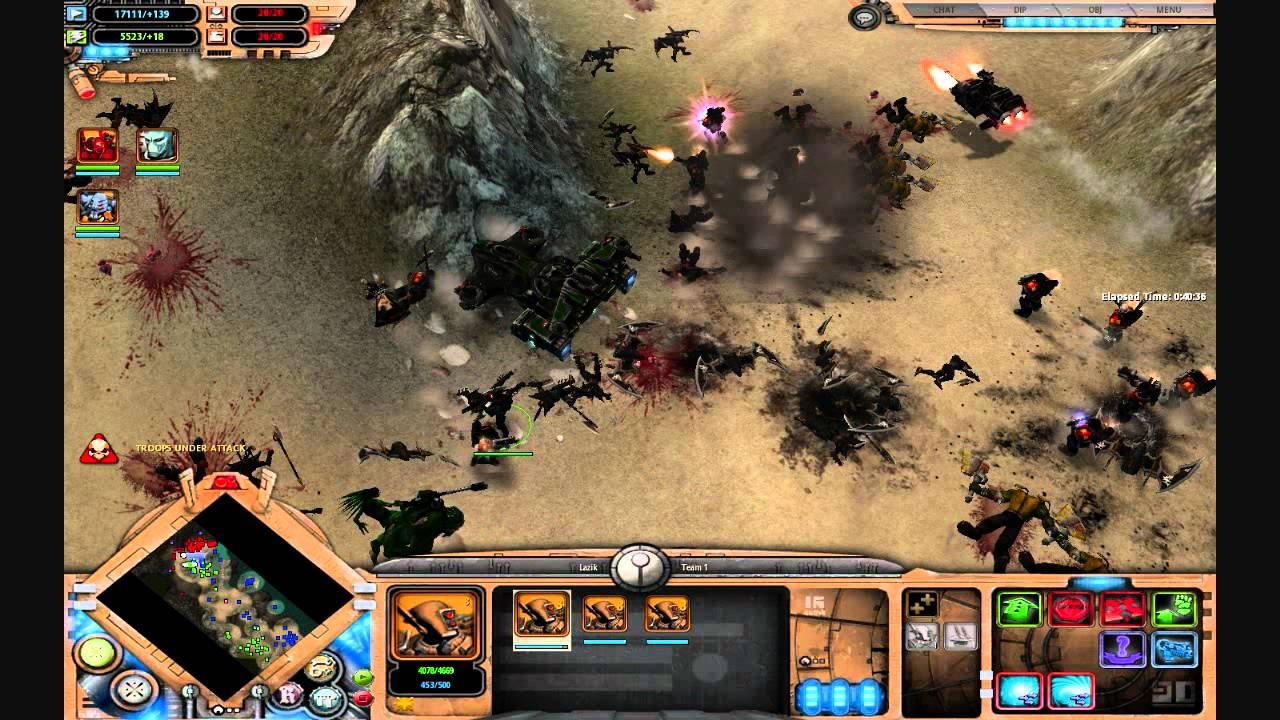 Warhammer 40K Dawn of War: Soulstorm- Tau - YouTube