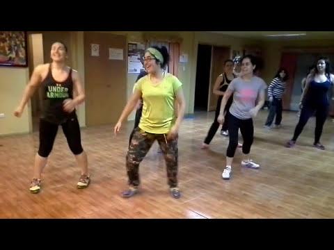 baile entretenido con kary y pao