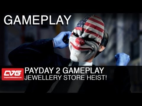 Payday 2 Gameplay: Jewellery Store Heist!