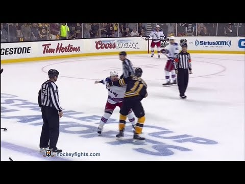 Derek Dorsett vs Gregory Campbell May 19, 2013