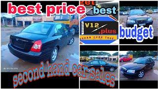 Elantra sx petrol 2004 model second hand car sales in Chennai Tamil Nadu v12Plus
