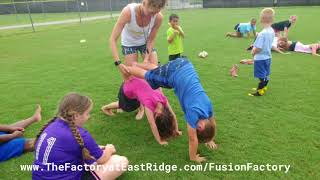 Fusion Factory Sports Camp - Conditioning July 2nd - 6th 2018 Part 2