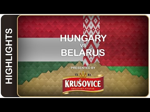 Happy day for Hungary | Hungary-Belarus HL | #IIHFWorlds 2016