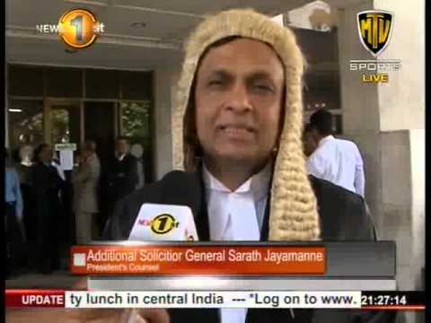 Additional Solicitor General Sarath Jayamanne appointed President's Counsel