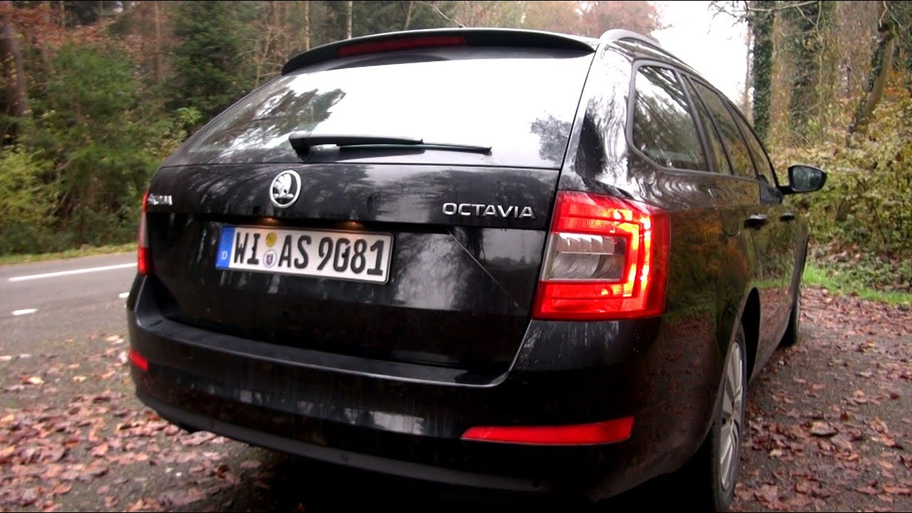 2014 skoda octavia combi 1 6 tdi 7 dsg 105 hp test drive youtube. Black Bedroom Furniture Sets. Home Design Ideas
