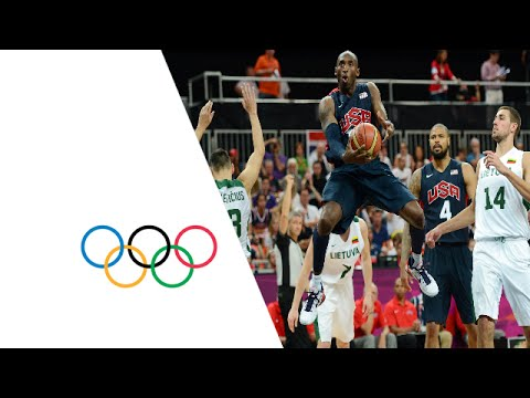 Full highlights as the United States beat Lithuania 99-94 in the Men's Preliminary Round Group A match from the Basketball Arena during the London 2012 Olymp...