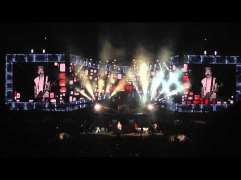 One Direction Midnight Memories Osaka Japan Live February 24, 2015 ワンダイレクション 4th Song 大阪ドーム video