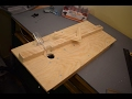 Very simple homemade router table for small projects
