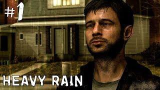 HEAVY RAIN ПРОХОЖДЕНИЕ НА РУССКОМ #1 ► ПРОХОЖДЕНИЕ ИГРЫ HEAVY RAIN