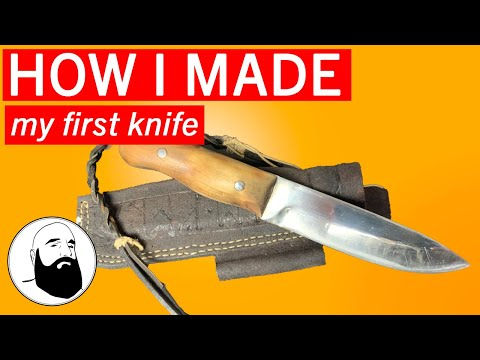Homemade Bushcraft Knife: From Blank to Blade
