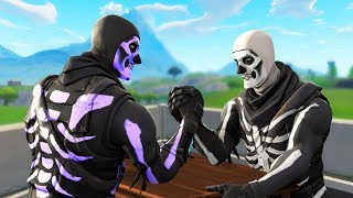 I invited FAKE Skull Troopers to my Fortnite clan...