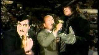 WWE Summerslam 1992 Undertaker and Paul Bearer