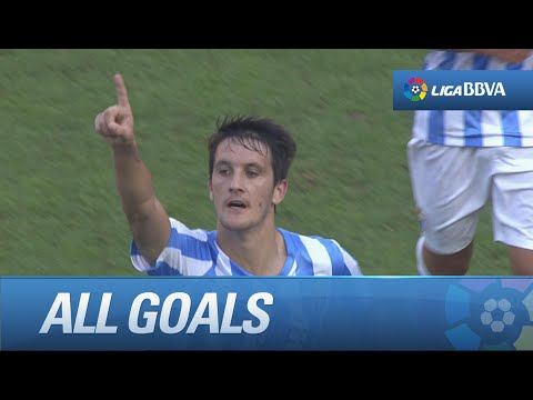 All goals Málaga CF (1-0) Athletic Club