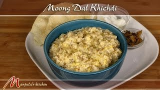 Moong Dal Khichdi Recipe by Manjula