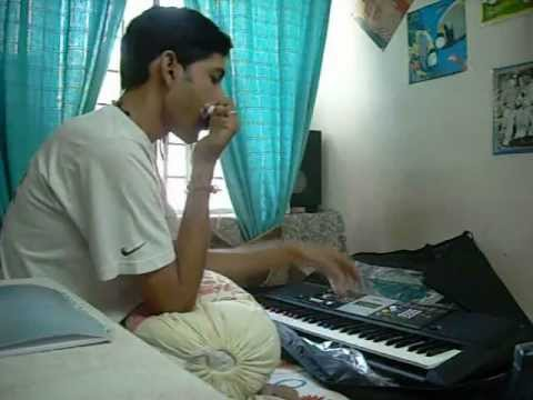 mil gayi aaj aasmaan se (guzarish) Instrumental on Mouth organ...
