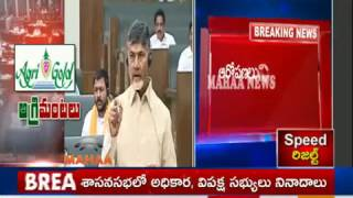 Agri Gold Scam Hits AP Assembly Sessions | TDP Vs YSRCP War in Assembly