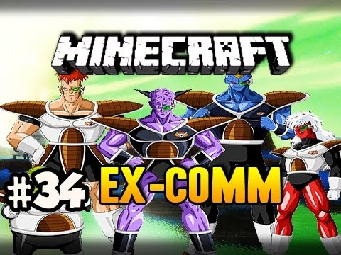 Ginyu Force - Minecraft: Ex-comm Dragon Ball Z Mod W nova, Ssohpkc & Slyfox Ep.34 video