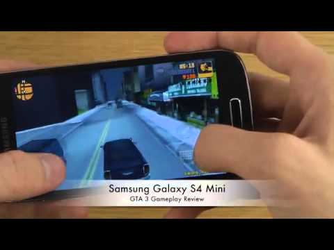 GTA 3 Samsung Galaxy S4 Mini Gameplay Review