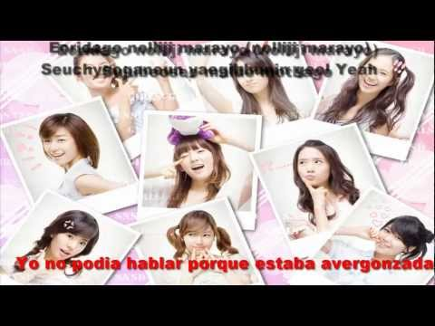 1. Girls' Generation (SNSD) - So Nyuh Shi Dae Lyrics-Romanization (Sub español)
