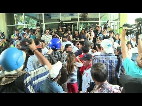 Protesters disrupt voting in Thai election