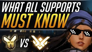 What GRANDMASTER Supports do that YOU DON'T | Overwatch Gameplay Guide