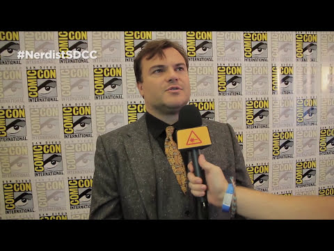 JACK BLACK Gives Us GOOSEBUMPS at Comic-Con - Nerdist @ SDCC