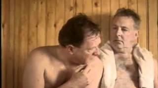 homens na sauna