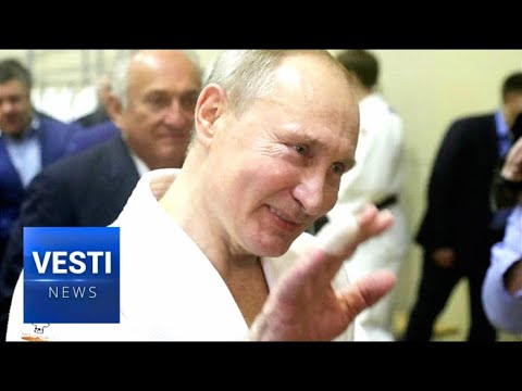 Putin Stresses Importance Of Sports And Exercise While On The Judo Mat And The Hockey Rink