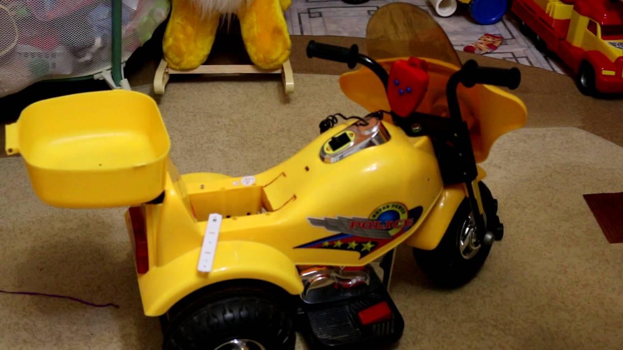 Ремонт детского электромотоцикла своими руками 36