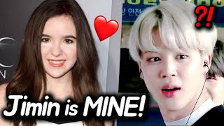 Famous American Actress Proposed Marriage to BTS Jimin?