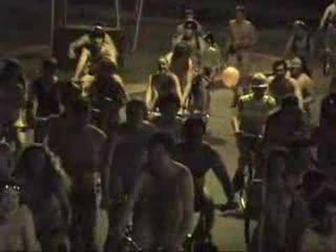 Uvm naked bike ride 2010