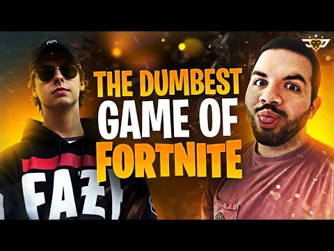 THE DUMBEST GAME OF FORTNITE IN HISTORY! With Cizzorz! (Fortnite: Battle Royale)