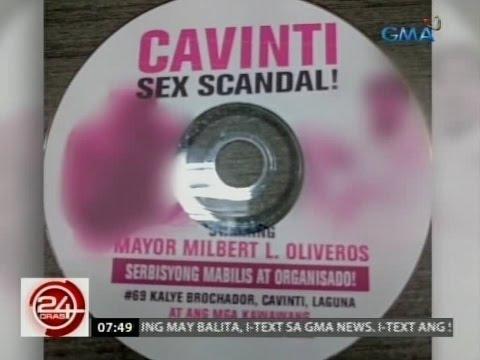 24 Oras: Sex video umano ng mayor ng Cavinti, Laguna, gustong paimbestigahan ng Sangguniang Bayan