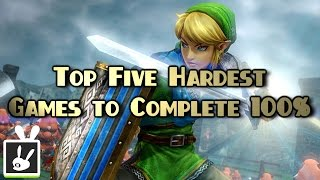 Top Five Hardest Games to Complete 100%