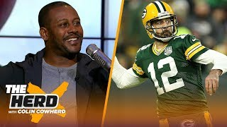 Ty Law talks the NFL MVP race, Chiefs-Rams MNF game and Aaron Rodgers' future | NFL | THE HERD