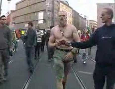 Keith Jardine dancing