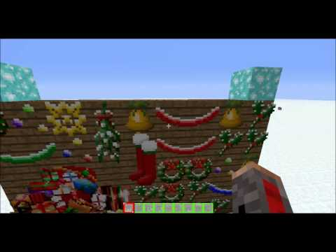 Minecraft 1.4.6 [Christmas Special] [Texture Pack Review] [X-Mas Pack]