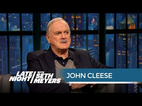 John Cleese on Reuniting with Monty Python for the Money - Late Night with Seth Meyers