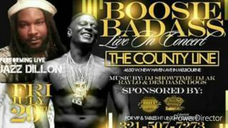 Jazz Dillon - Back in a minute - Boosie concert