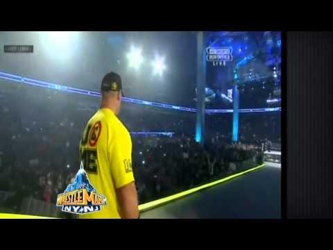 John Cena Wrestlemania 29 entrance