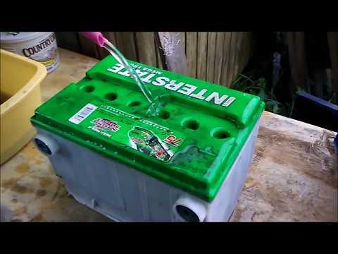 A trick to rejuvenate a car battery