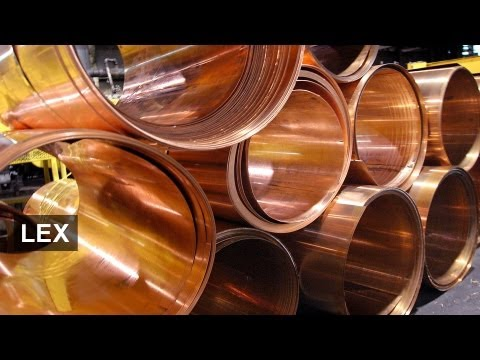 Copper follows gold fall