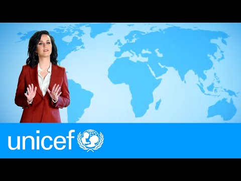 Can you predict Katy Perry's weather forecast? | UNICEF
