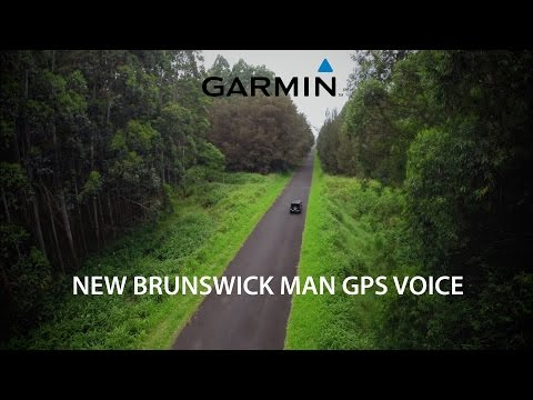 New Brunswick man GPS voice