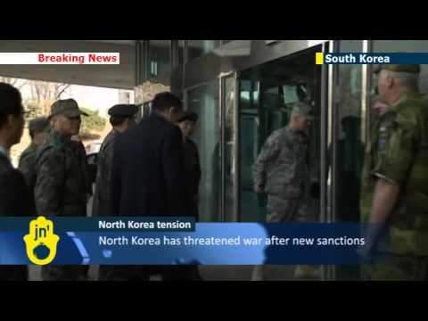 NATO chief visits DMZ as tension on Korean Peninsula escalates